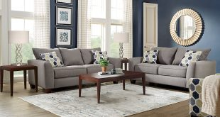 living room set bonita springs gray 5 pc living room - living room sets PPWJAHS