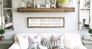 living room wall decor rustic wall decor idea featuring reclaimed window frames HGOBHDW