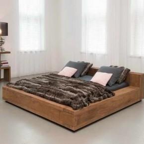 low bed frames low profile wood bed frame TDNKOUS