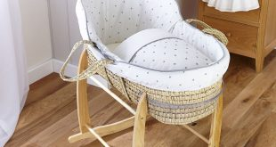 lullaby hearts high top® palm moses basket CEDOYIP