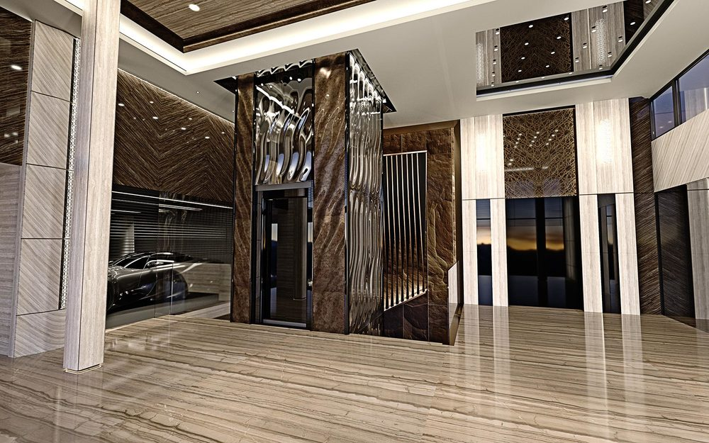 luxury interior design, entry hall IPDOFRZ