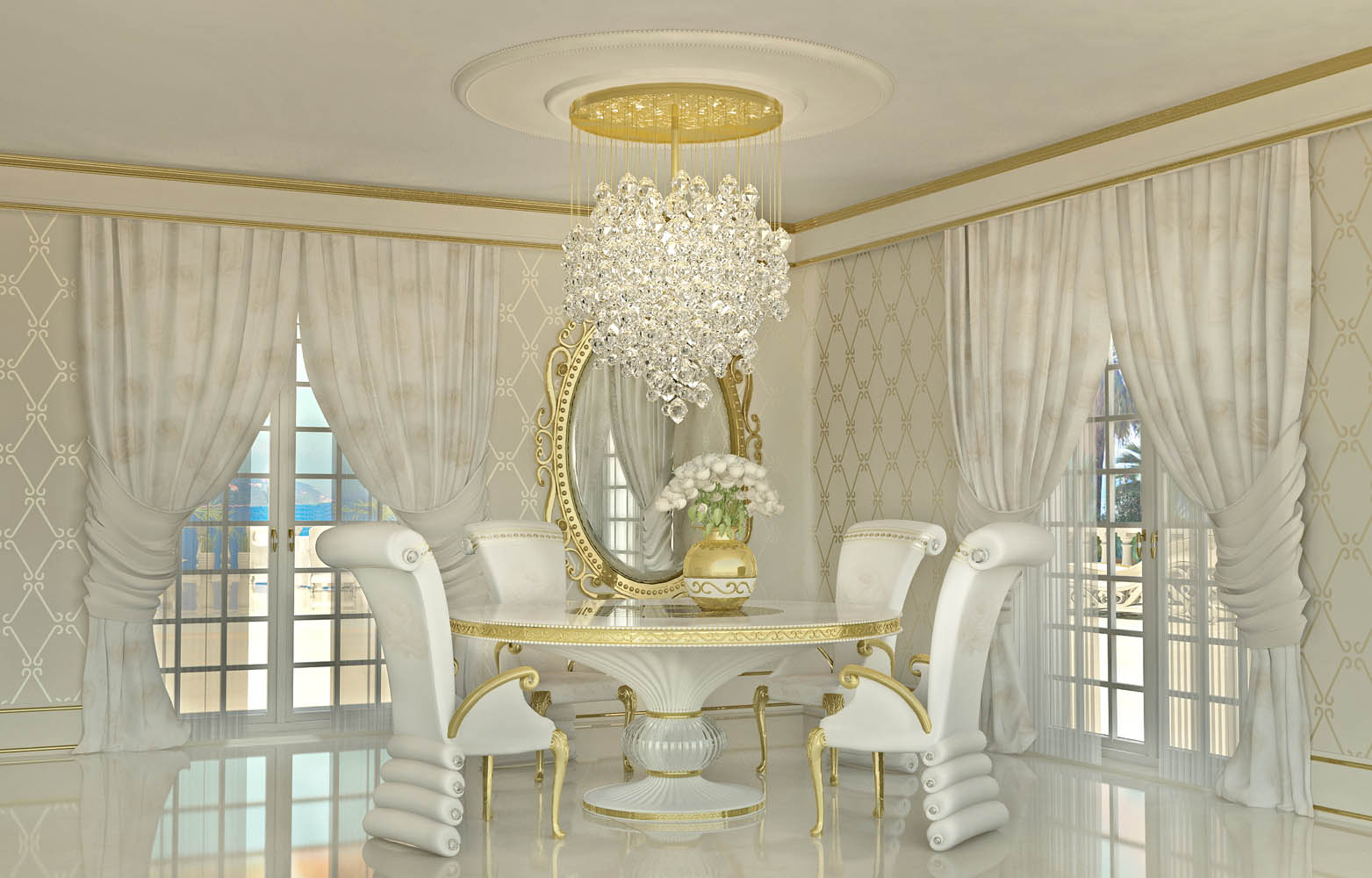 luxury ınterior design ... lidia bersani / luxury interior design - beautiful white armchair PVQMZOR