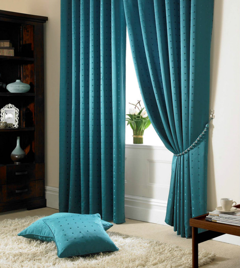 madison teal curtains DTTHRNG