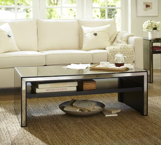 marnie mirrored coffee table IXVOOZJ