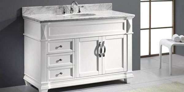 White Bathroom Vanity – A Choice of Class