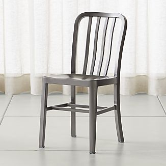 metal chairs delta nickel dining chair MFFNLTT