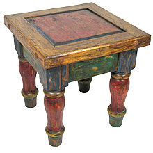 Mexican Furniture Painted Wood Table Rustic Amqeknn