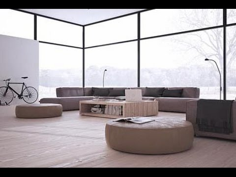 minimalist furniture inspiring minimalist interiors with low profile furniture - youtube XSYVHHF