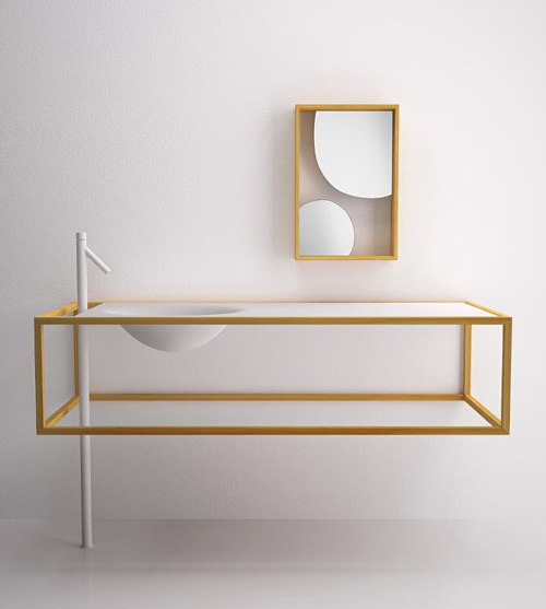 minimalist furniture view in gallery nendo bathroom furniture bisazza bagno 1 minimalist OMHXQMO