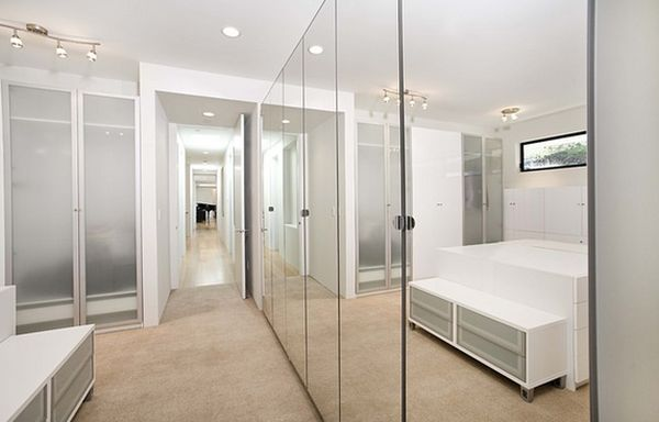 mirrored closet designs closet door designs and how they can completely change the décor WNHCLNP