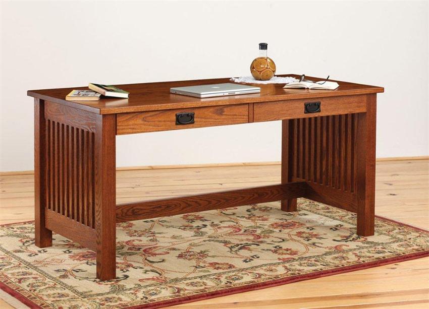 mission furniture amish holmes mission writing desk LFMYLZM