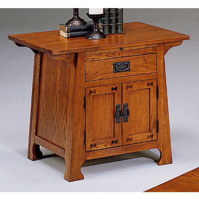 Merveilleux Mission Furniture Solid Oak Craftsman Mission Side Table. View Images  GHXETUY