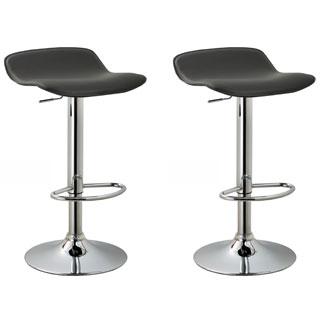 modern bar stools modern adjustable bar stools (set of 2) - 23.5 - 31.5 KEOBVFT