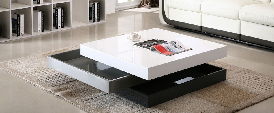 modern furniture design stylish coffee table with unique design DZWTJQL