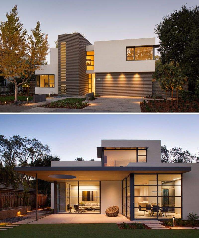 modern house design this lantern inspired house design lights up a california neighborhood MKVPQCK