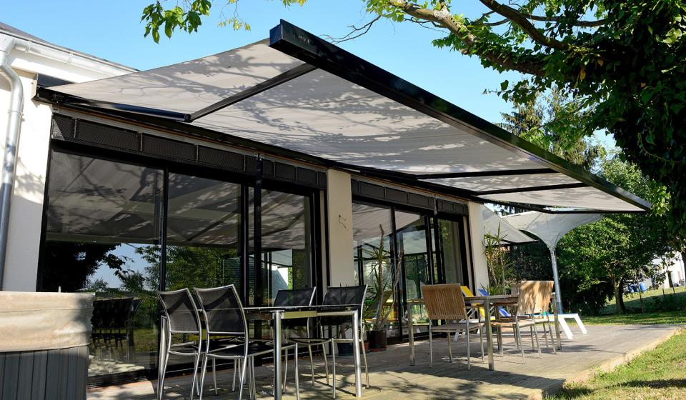 modern patio awning HHSXAOG
