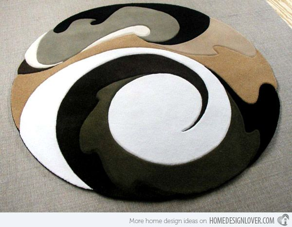 modern round rugs 15 geometrical and artisitc modern round area rugs BXPTGMF