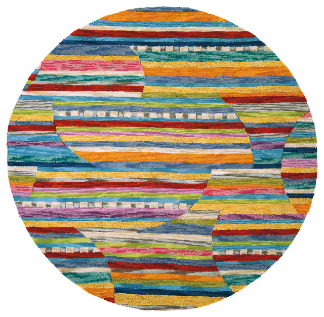 modern round rugs colorful jubilee round rug modern XIZTIRL