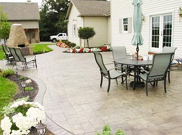 modern slate patio design. slate patio design ideas ENHLVKM