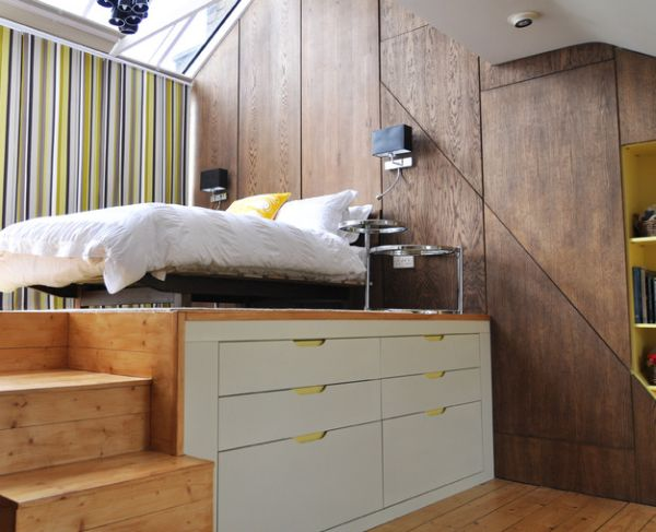 modern small bedroom design ideas view in gallery modern loft bed perfect for small bedrooms TOLCWXO