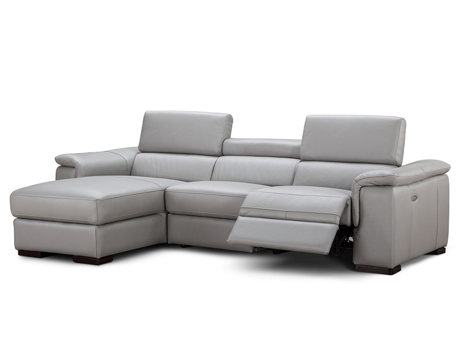 modern sofa recliner alba modern sectional sofa recliner by ju0026m HGKWIMF