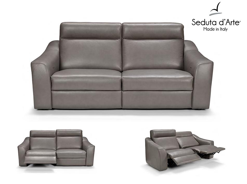 modern sofa recliner modern recliner sofa kelly by seduta du0027arte italy VEODUDO