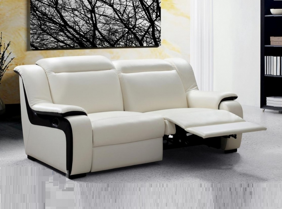 modern sofa recliner modern reclining sofa leather JNASCOC