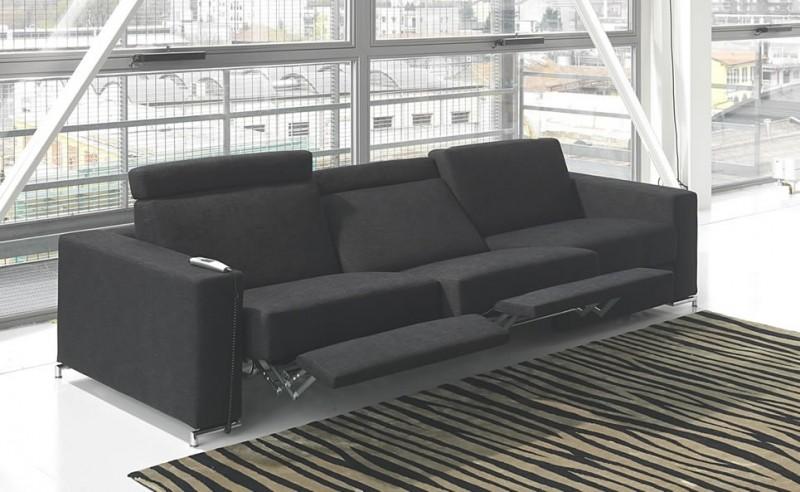 modern sofa recliner modern reclining sofas - foter QOQQLPK