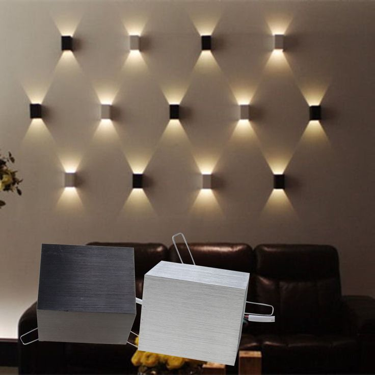 Modern Wall Decor Ideas 3w Led Lamp Hall Porch Walkway Bedroom Livingroom Home Fixture RQGTPNB