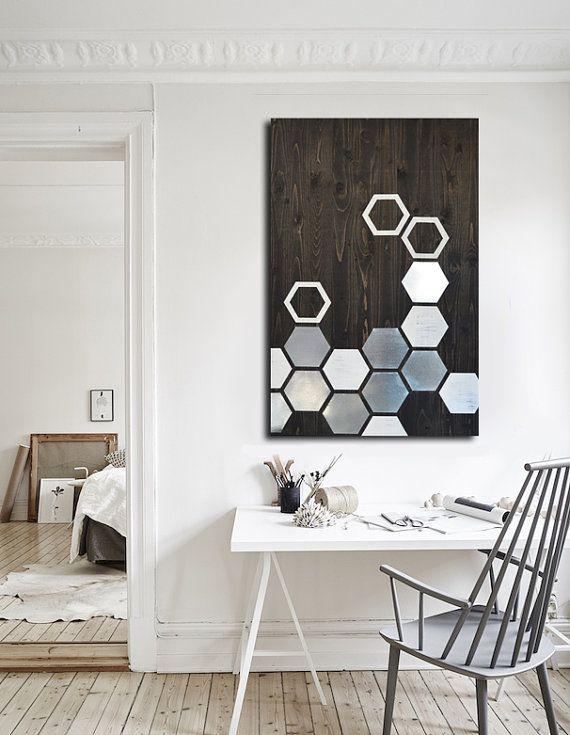 modern wall decor modern wall art - metal wall art - wall art wood OQPYEVK