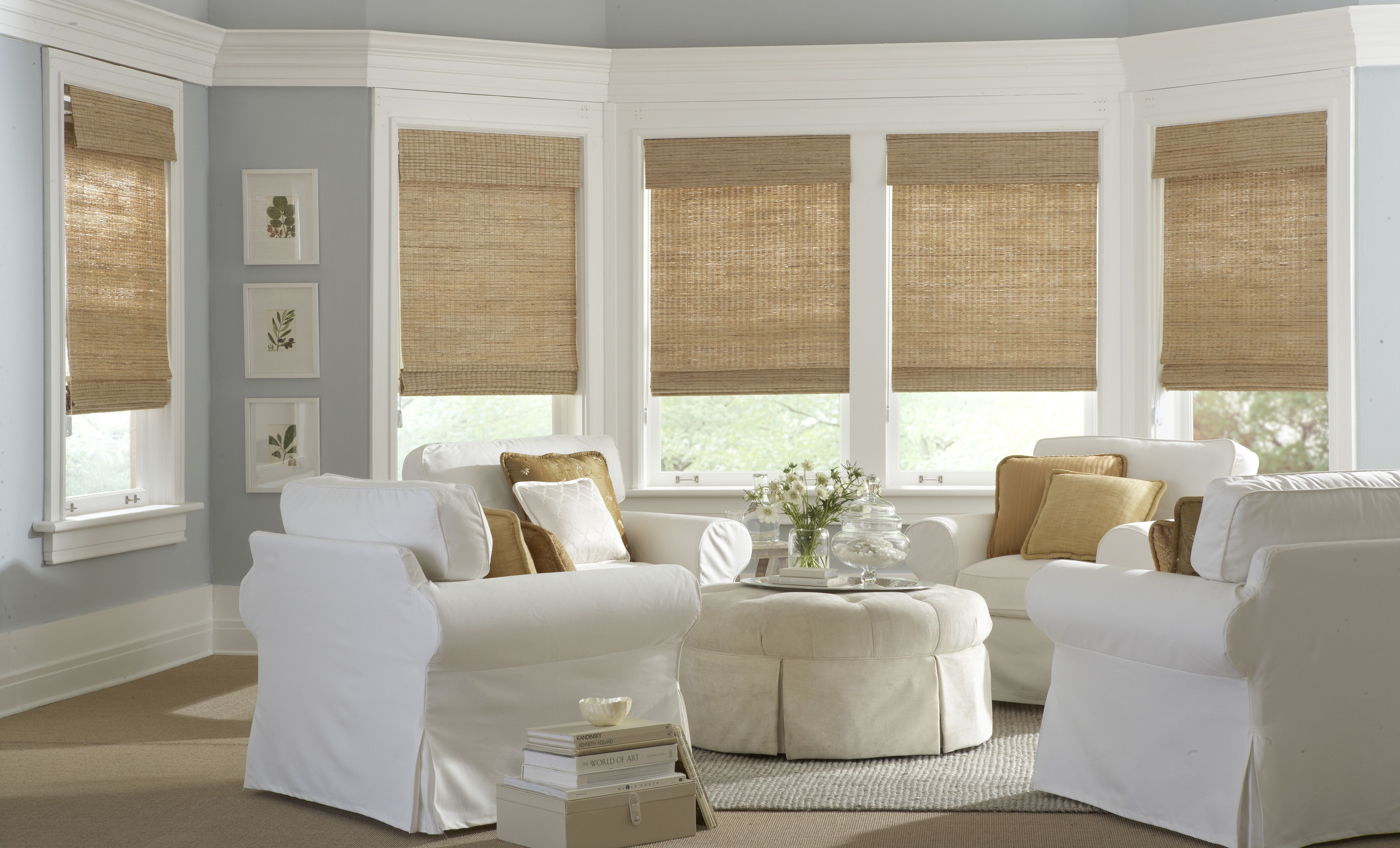 natural shades/bamboo shades - english perfecto blinds inc GQASLQY