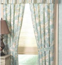 nautical curtains natural shells window curtain : aqua shell tropical beach panel drape ESXBMJK