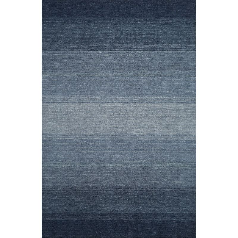 navy blue rug 8 x 10 large ombre navy blue area rug - torino LPCCICD