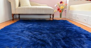 navy blue rug navy blue rich luxurious shaggy rectangle area rug nonslip WNIHRED