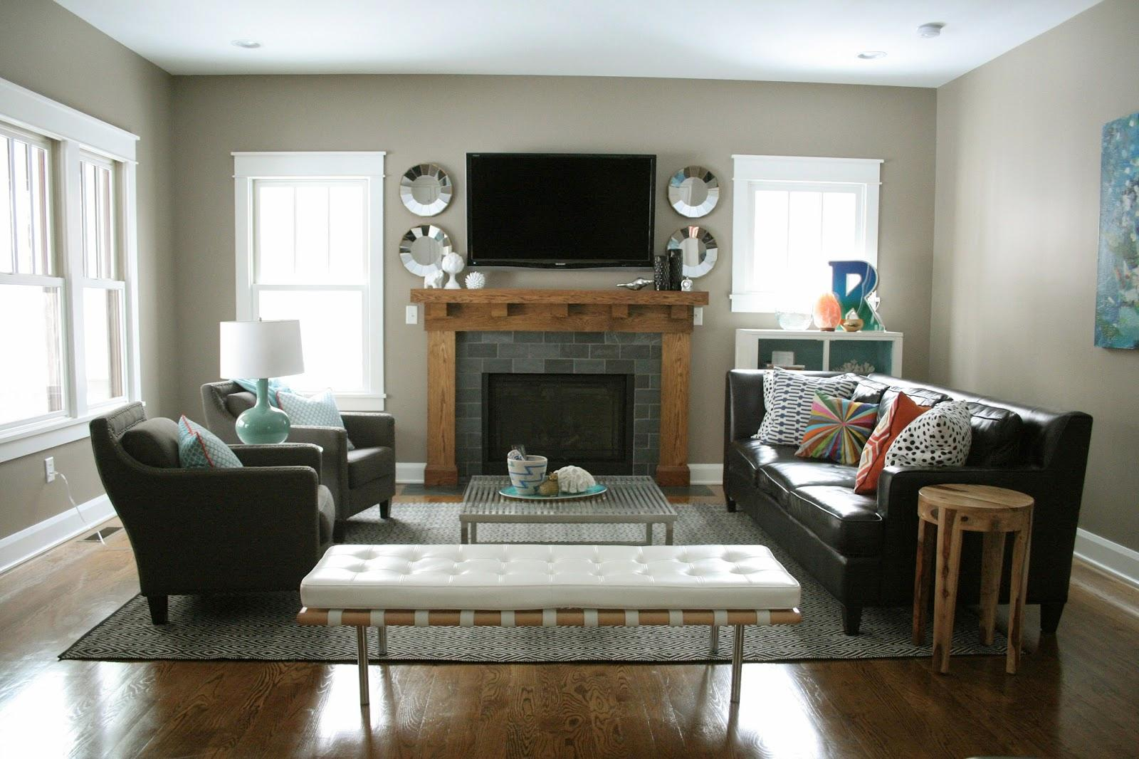 new lounge ideas ... new living room ideas entrancing with black leather upholstered sofa OEFNZCY