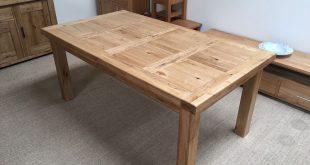 oak table attractive extendable dining set 2 oakita oxford solid oak extending table SHAQOWK