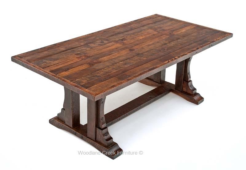 oak table repurposed oak dining table HODNYRU