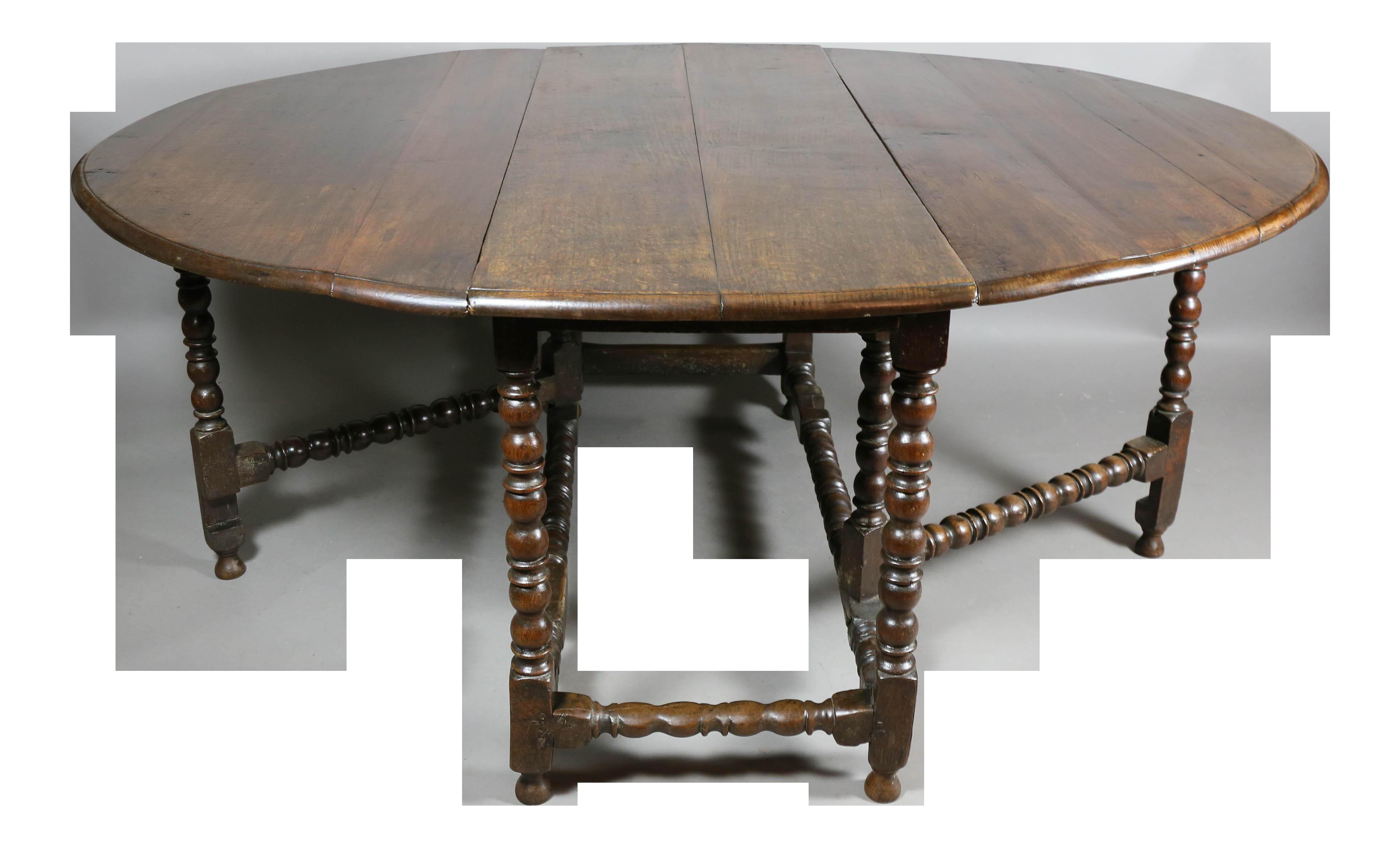oak table superb large jacobean oak gateleg table | decaso MPIOJWA