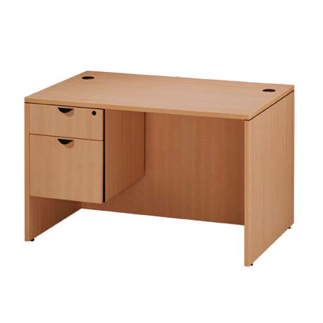 office desk furniture pl121107-single-pedestal-office-desk-30-x-48 XYOKIBE