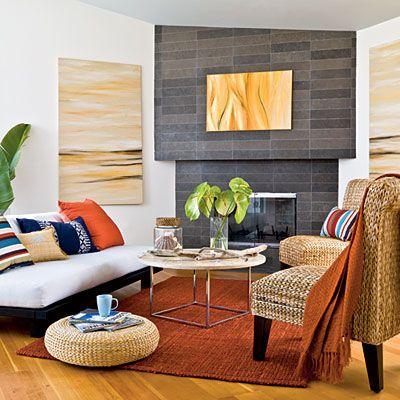 orange rugs for living room beachy boho interiors XHEGZID