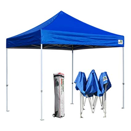 outdoor canopy eurmax basic 10x10 ez pop up canopy tent entry commercial level+roller JGJDBRQ