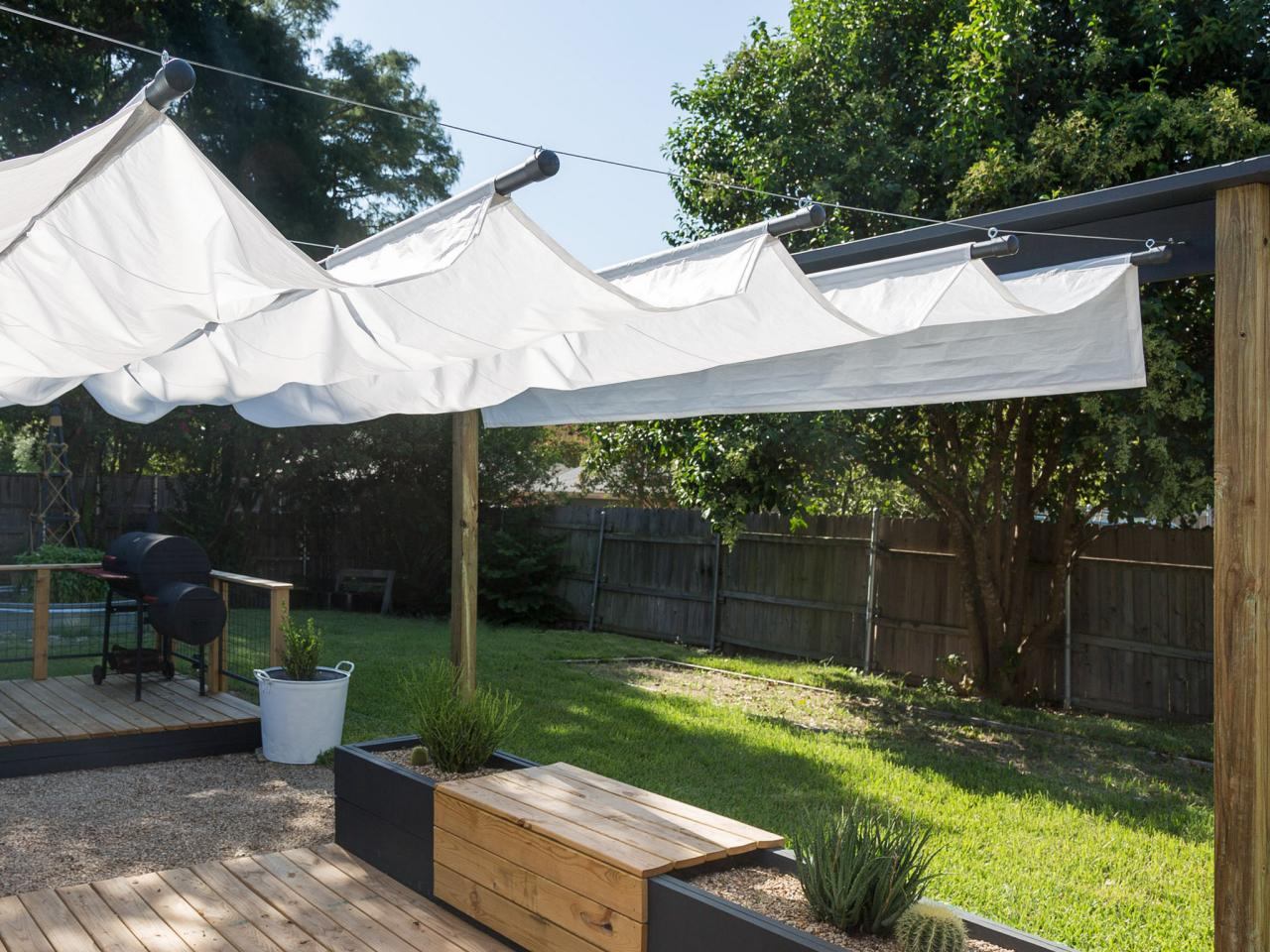 outdoor canopy make a retractable canopy AERWVME