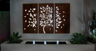 outdoor garden wall art FYKTXPN