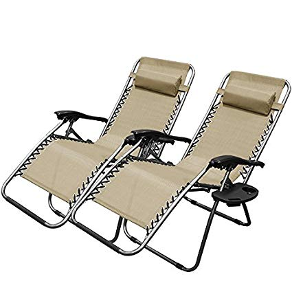 outdoor lounge chairs xtremepowerus zero gravity chair adjustable reclining chair pool patio outdoor XHZEKKO