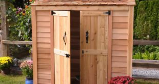 outdoor storage shed DOGUDSQ