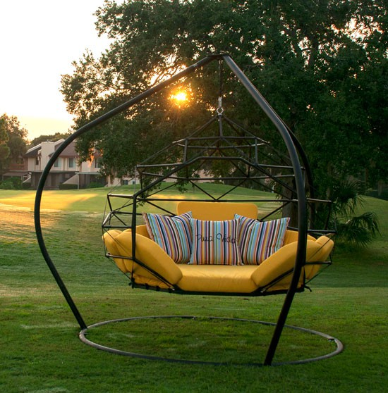 outdoor swings the hanging lounger by kodama zome outdoor swing bed / lounge NYYEURN