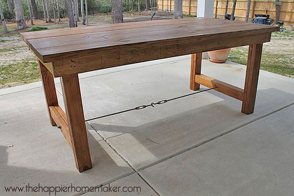 outdoor tables diy outdoor dining tables-2 MHRBQUA