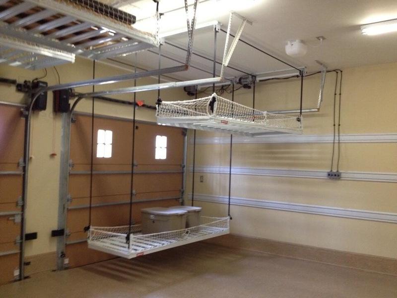 overhead garage storage system QXXWAIF