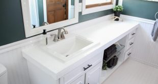 painted bathroom countertops ZCLSJAR