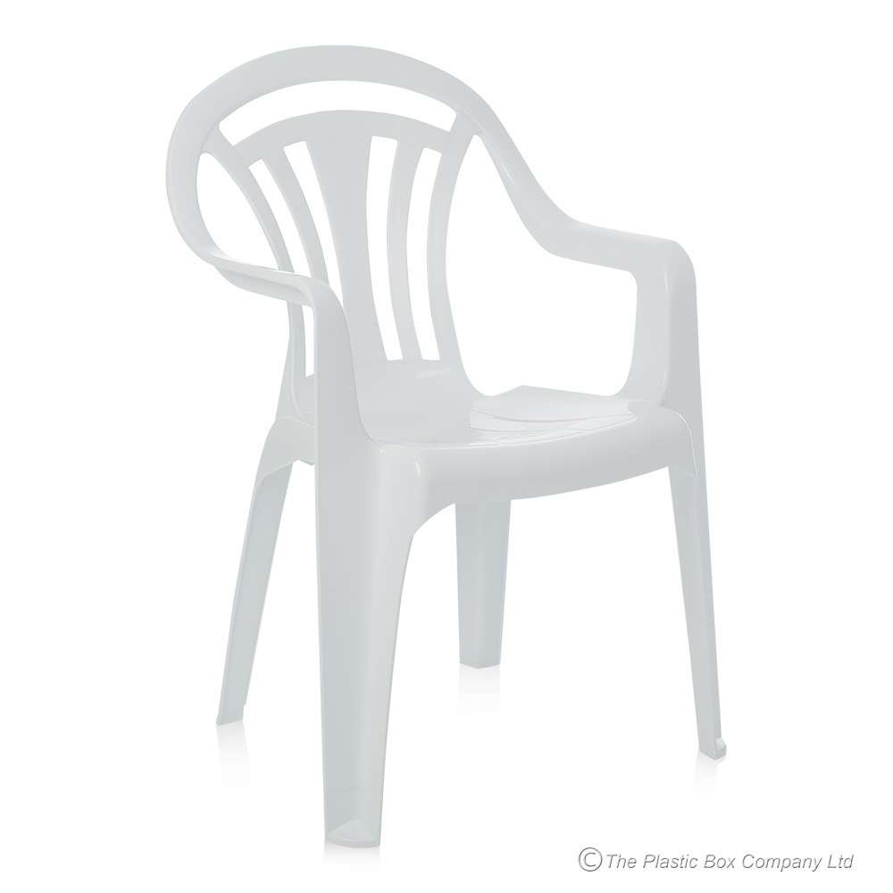 pallet deal x 50 - low back plastic garden chairs ZVWAPGK